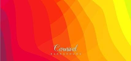 Red and Yellow  Abstract Background vector