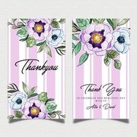 Watercolor Floral Banner Template