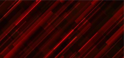 Red Abstract Line Light Background