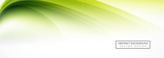 Abstract green header design