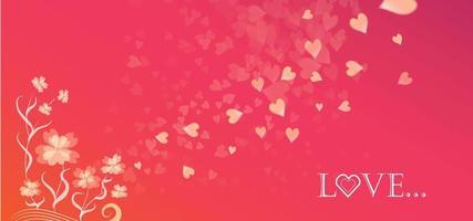 Fondo de corazón de amor