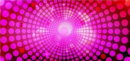 Pink Dots Abstract Background