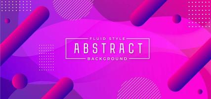 Modern Abstract Fluid Background