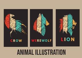 Animal Illustration urban style