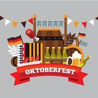 Oktober Beer Fest vector