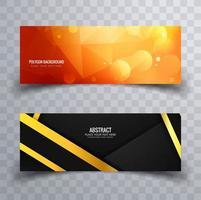 Abstract Header Design Set