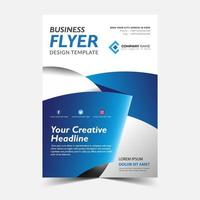 Blue Ribbon Flyer Template