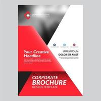 Red Modern Flyer Template Design