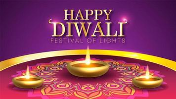 Diwali das Lichterfest in Indien