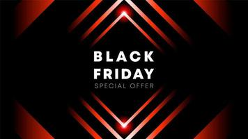 Black Friday tapetdesign