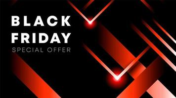 Black Friday verkoop inscriptie ontwerpsjabloon. Black Friday-banner