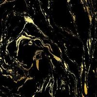 Black and gold marble texture background
