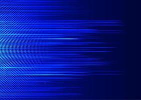 Fundo azul movimento linha