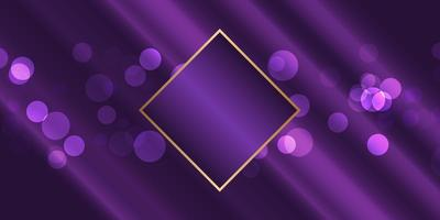 Purple Blur Lights banner vector