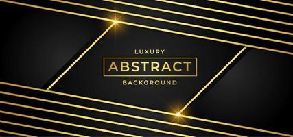 Luxury background with golden stripes