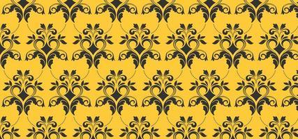 Europäisches gelbes nahtloses Muster