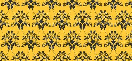 Europees geel naadloos patroon