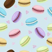 Macaroon pattern background