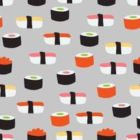 Sushi Pieces Pattern