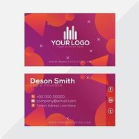 Multi-shapes Business Card