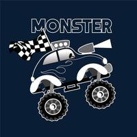 Design Racing Monster Truck