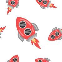 rode raket vliegen