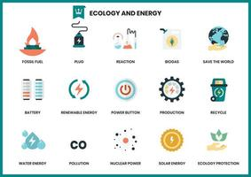Set of ecology and energy