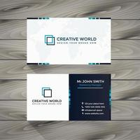 Business Card color Template set