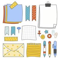 stationery element set
