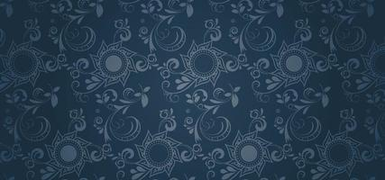 Blue Gothic Style Wallpaper
