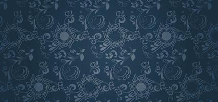 Blå gotisk stil tapeter
