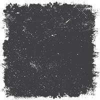 Fondo negro detallado de la textura del grunge vector