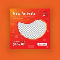 Nya ankomster sociala medier post mall