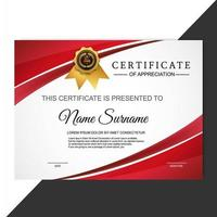 certificate of appreciation award template