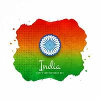 Indian Watercolor flag background