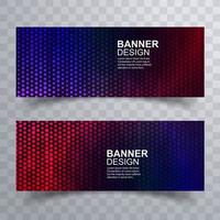 Halbton gepunktete Header-Set-Design