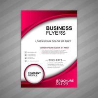 Business Broschüre Wellenvorlage