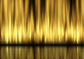 Display background with golden curtain design