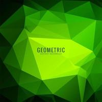 Multi green Polygonal geometric Background