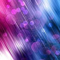 Círculo e linhas burled luzes brilham