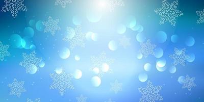 banner di Natale fiocco di neve