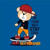 Skater Bear Cooles Design