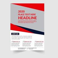 Join Us Corporate Flyer Template vector