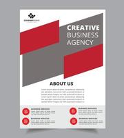 Company Summary Design Template vector