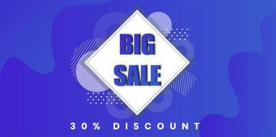 Big sale purple discount background design