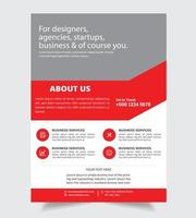 Chi siamo Corporate Flyer Business Design