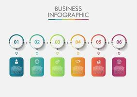 Business Data Numerical Infographic