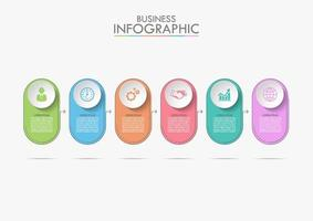 Business Infographic Timeline Template