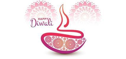 Fondo de vacaciones festival Diwali