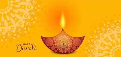 Biglietto di auguri per la celebrazione del festival Diwali in India